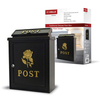 De Vielle Diecast Post Box - Gold Rose