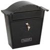 De Vielle Traditional Post Box - Black