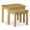 Furniture > Living Room > Nest of Tables Salisbury Lite Oak Nest of Tables