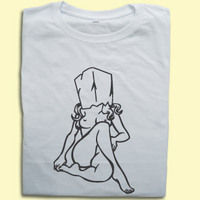 Quality Profanity T-Shirts  - Bag On Her Head T-shirt  sexy offensive T-shirt