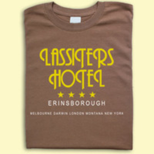 TV inspired T-Shirts  - Neighbours inspired Lassiters Hotel T-shirt