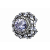 Womens Jewellery > Rings Lavender Cluster Cocktail Ring
