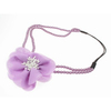 Hair Accessories > Headbands & Headwraps Lilac Floral Pearl Headband Elastic