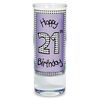 21st Birthday Shot Glass