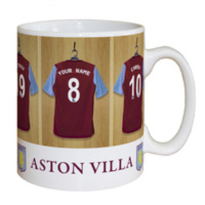 Sports Gifts > Mugs and Cups  - Aston Villa Personalised Dressing Room Mug
