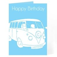 Birthday Gifts > Cards  - Campervan Card