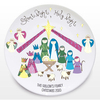 Personalised Christmas Gifts Silent Night Keepsake Plate