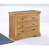 Chests of Drawers LPD Worthing 2 + 2 Drawer Chest - Solid American White Oak (American White Oak)