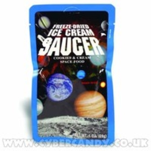 Candy  - Space Food Freeze Dried Ice Cream Saucer - Cookies and Cream