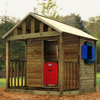 Children's Playhouses Kingston Tykes Timber Quality Wooden Playhouse