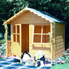 Children's Playhouses Kitty Wooden Garden Shire Traditional Playhouse