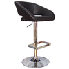 Bar Stools Winchester Retro Black Faux Leather Kitchen Bar Stool