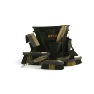 Bentley Slip-Not Pro Deluxe Grooming Set - Black/Gold