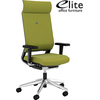 Elite I-Sit 24 Hour Upholstered Task Chair With Headrest