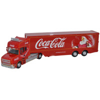 Model Railways > OO Scale > Figures & Vehicles > Oxford Diecast  - Scania T Cab Coca Cola Box Trailer