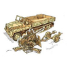 Kits & Pre Built > Military Vehicles > 1:35 > Italeri SWS with FLAK 43