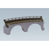 Model Railways > HO Scale > Buildings & Lineside > Tunnels & Bridges  - Top Section of Stone Viaduct