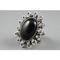 Women > Dress Jewellery  - Bijou Black Ring