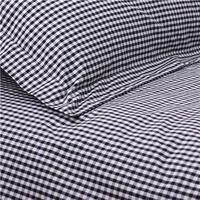 Baby and Child > Childrens Bedding  - Black Gingham Duvet Set