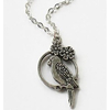 Parrott Silver Necklace