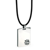 Pendants Stainless Steel Dog Tag with 18