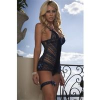 Babydolls  - Mini Dress Babydoll D963 by G World Lingerie