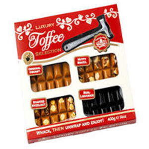 Gifts > Gifts For Him  - Walkers Luxury Toffee Selection - 400g