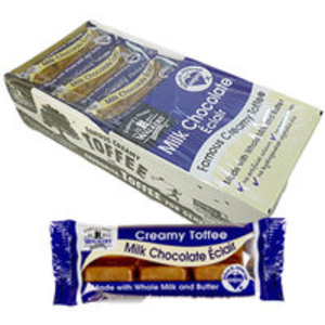 Boxed Sweets > Chocolate  - Walkers Milk Chocolate Toffee Bars - 24 x 50g