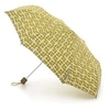 Orla Kiely Umbrella in Acorn Cup - Olive Green