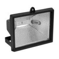 Plumbing, Electrical & Lighting > Lighting  - Halogen Floodlights - with PIR 500W + Lamp each
