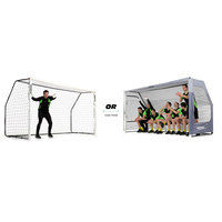Sports & Leisure > Sports Equipment > Football Accesseries  - Quick Play 12ft x 6ft Goal / Shelter Combo