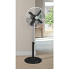 Home & Garden > Bedroom > Fans Swan Vintage 16 Inch Stand Fan in Black