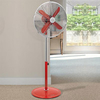 Home & Garden > Bedroom > Fans Swan Vintage 16 Inch Stand Fan in Red