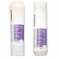 Packs  - Goldwell Dualsenses Blondes & Highlights Anti-Brassiness Shampoo 250ml & Anti-Brassiness Conditioner 200ml
