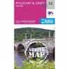 Active Landranger Map 52 Pitlochry and Crieff