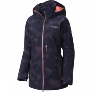 Columbia Womens Shreddin Jacket Nocturnal Haze Print