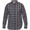 Fjallraven Mens Övik Check Long Sleeve Shirt Night Sky