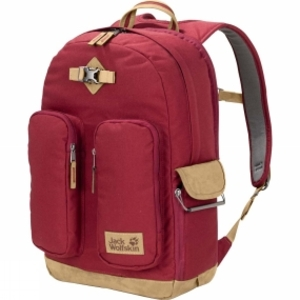 Rucksacks  - Jack Wolfskin 7 Dials Photo Pack Dark Red