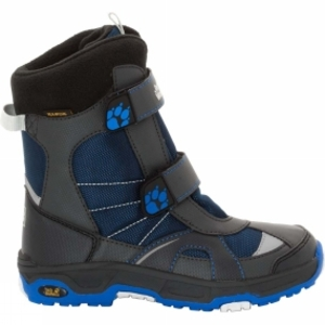 Low Shoes  - Jack Wolfskin Boys Polar Bear Texapore Boot Vibrant Blue