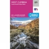 Landranger Map 89 West Cumbria