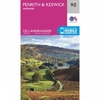 Landranger Map 90 Penrith and Keswick
