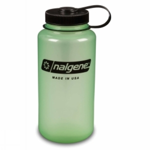Crockery & Cutlery for camping  - Nalgene Wide Mouth Tritan 1.0Litre Green