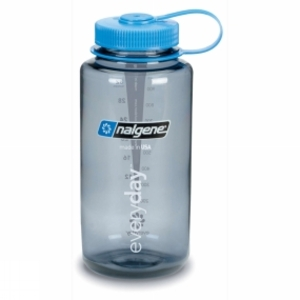 Crockery & Cutlery for camping  - Nalgene Wide Mouth Tritan 1.0Litre Mid Grey