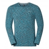 Odlo Mens Sillian Long Sleeve T-Shirt Seaport Melange