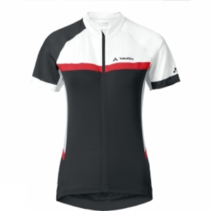 Vaude Womens Pro Tricot II Cycle Jersey Black