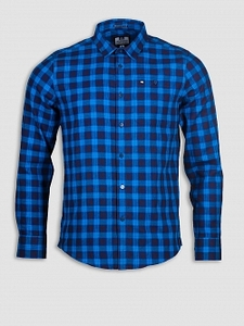 Casual Shirts  - Demille Navy/Savoy Blue