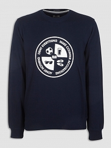 Pullovers  - Deny Everything Sweat Navy
