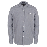 Casual Shirts  - Poe Navy/White