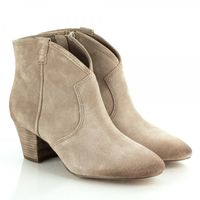 Boots  - Ash Taupe Spiral Women's Ankle Boot