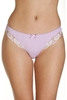 Lingerie & Sexy Clothing|Women's Pin Dot Lilac Print Thongs